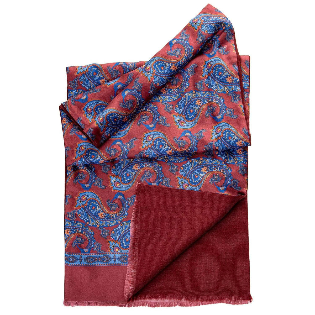 Made in Italy mens silk scarf