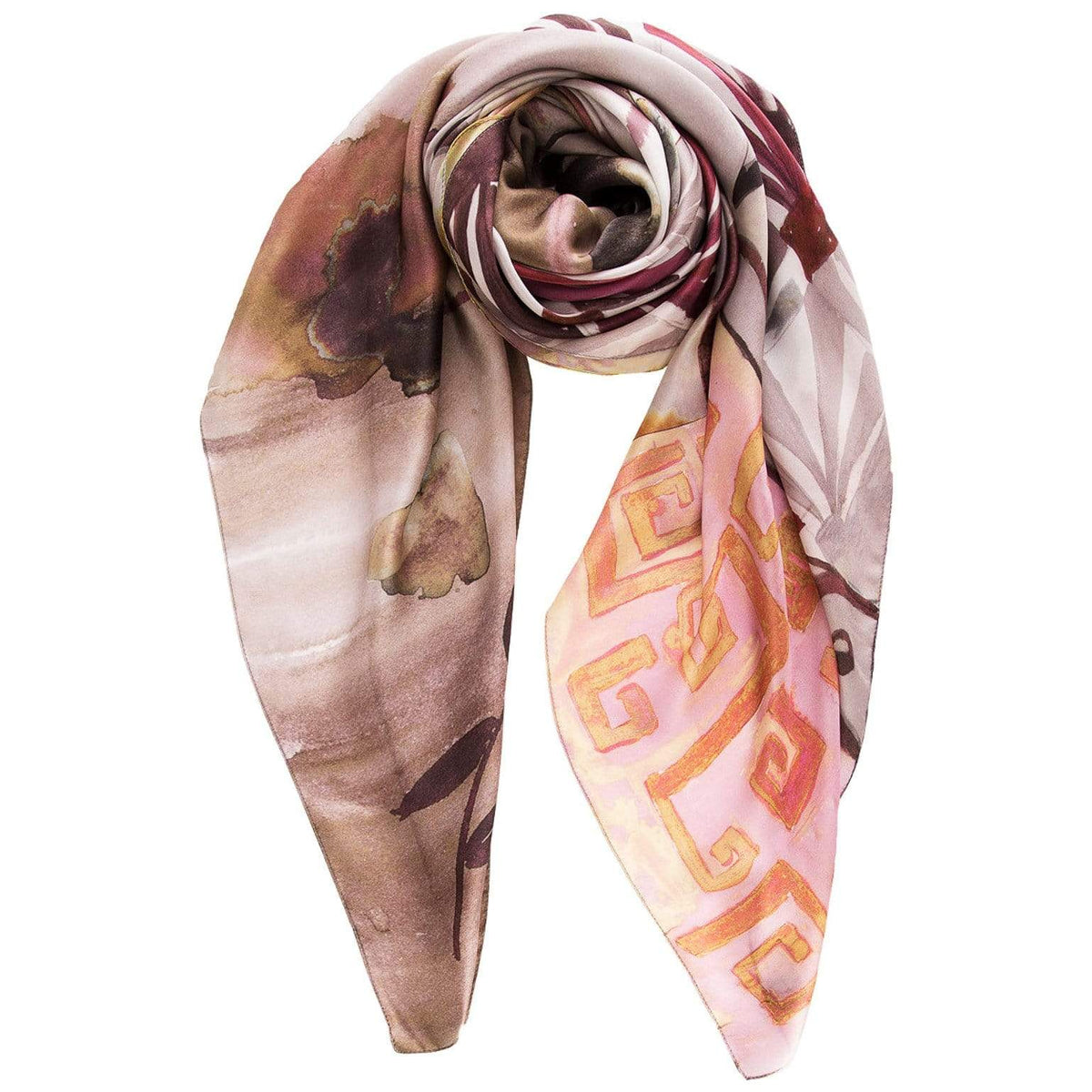 extra large square silk scarf
