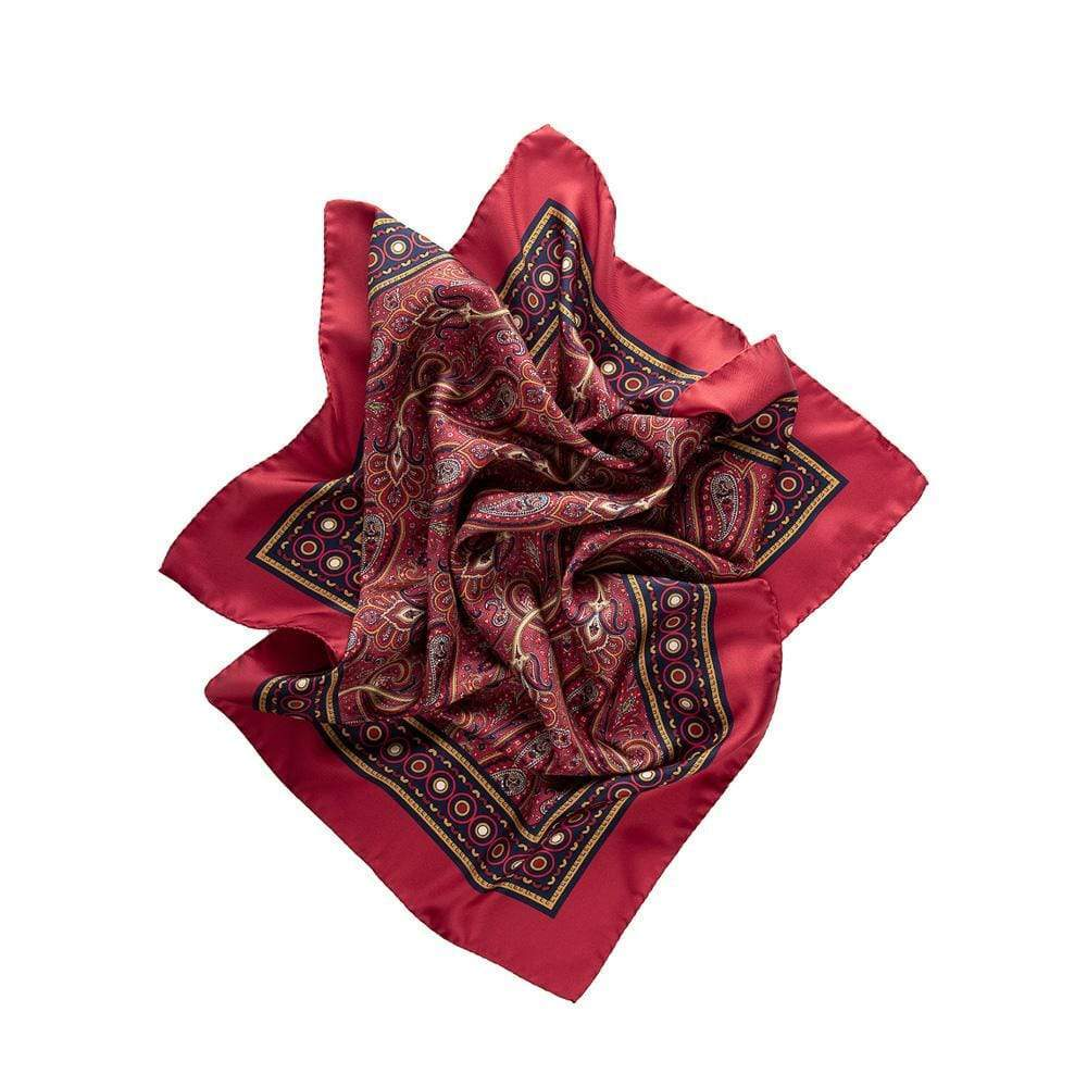 mens silk neckerchief bandana
