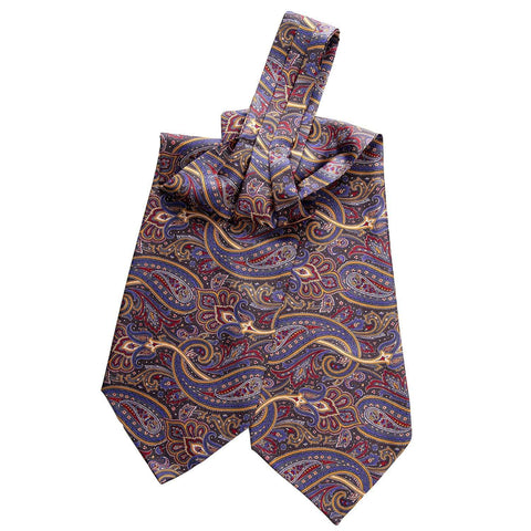 Italian silk ascot day cravat