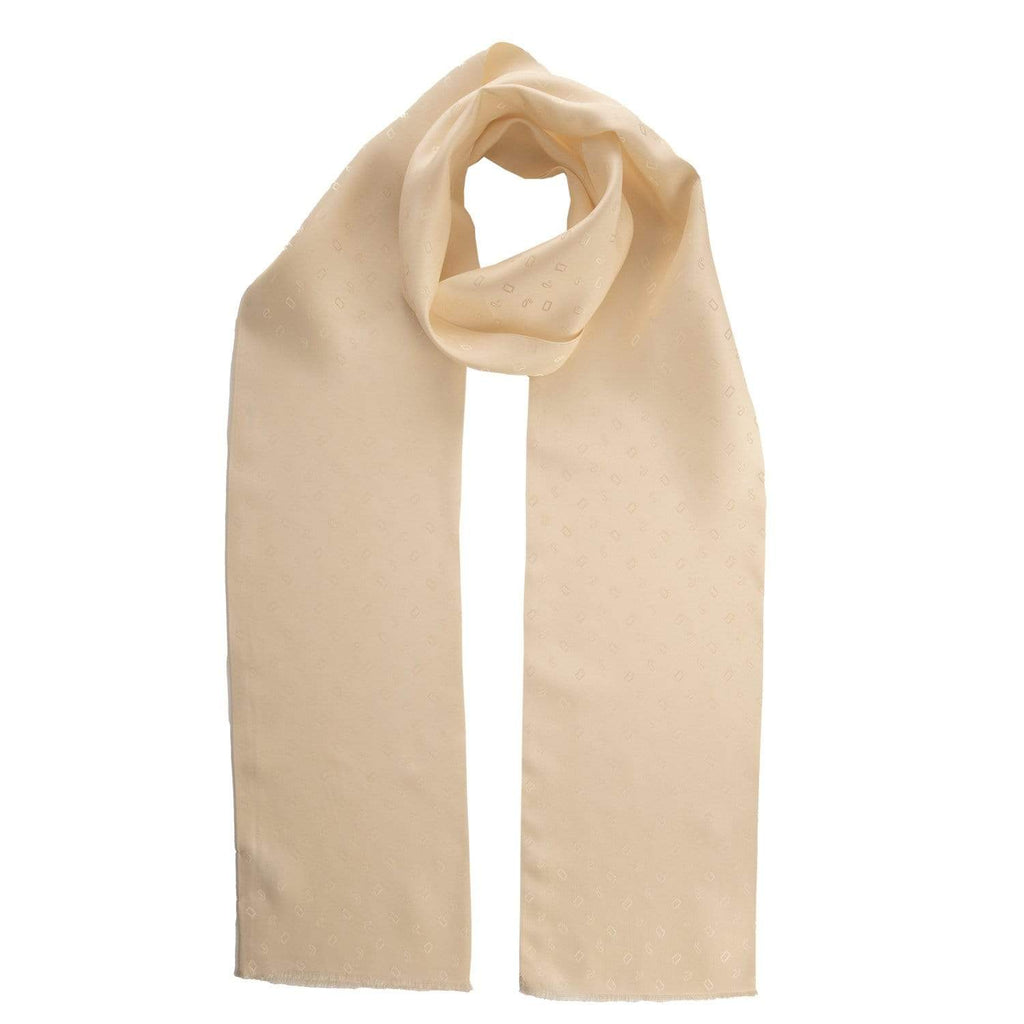 mens skinny silk dress scarf