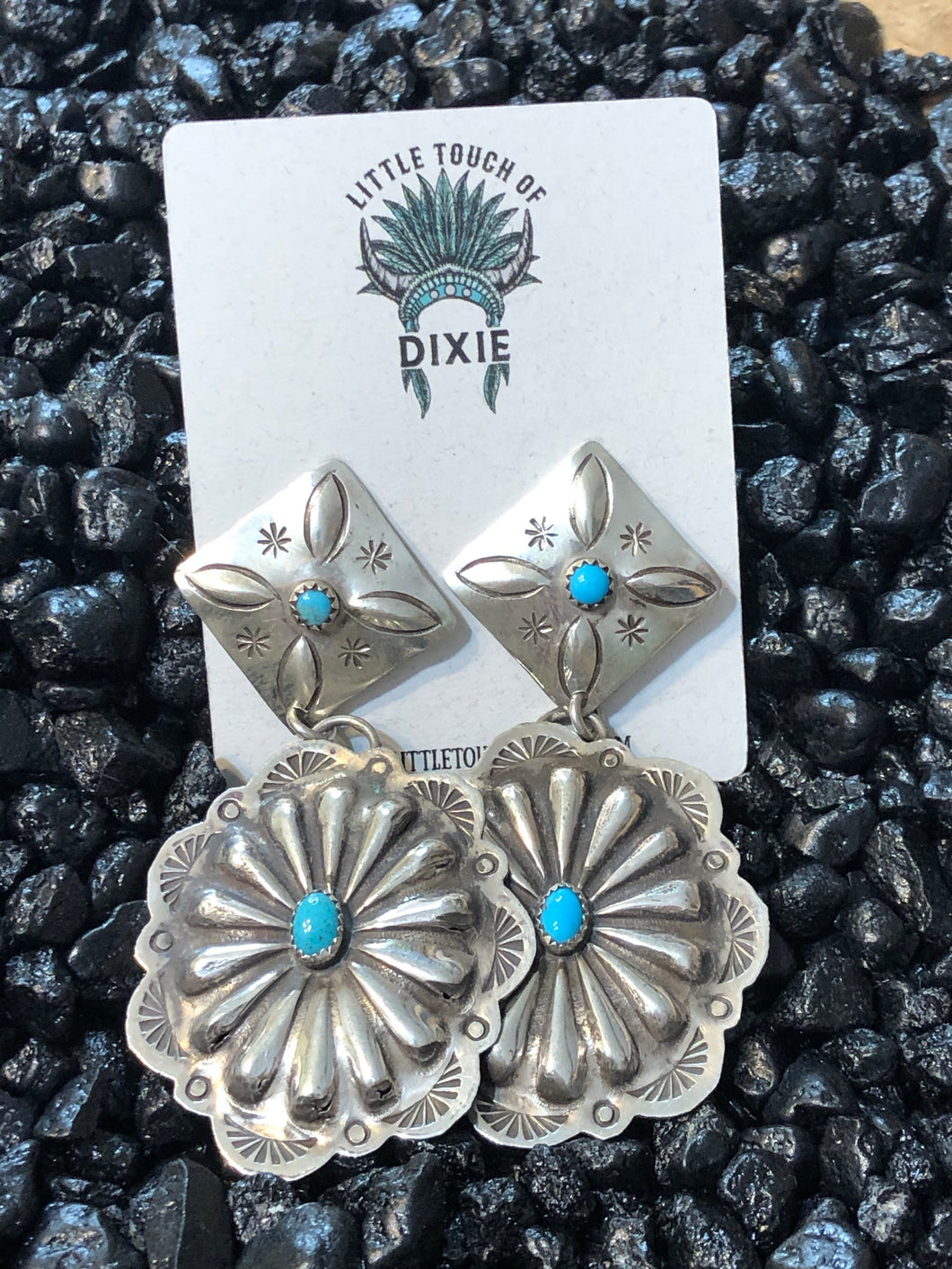 Kingman Concho Earrings