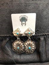 Load image into Gallery viewer, Kingman Concho Earrings