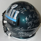 Philadelphia Eagles FS Super Bowl LII Team Signed Helmet JSA