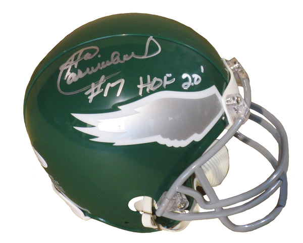 Harold Carmichael Autographed Philadelphia Eagles mini-helmet inscribed