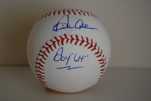 Dick Allen Autographed MLB Baseball Inscribed