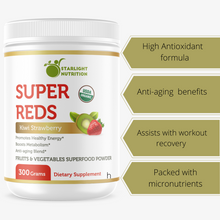 fruits and vegetables powder
