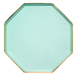 Mint Dinner Plates - Happy Plates