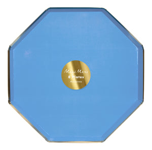 Plato Grande Bright Blue - Happy Plates