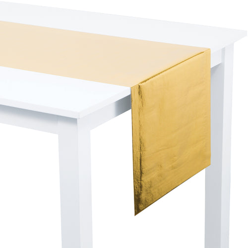 Metallic Gold Table Runner - Happy Plates