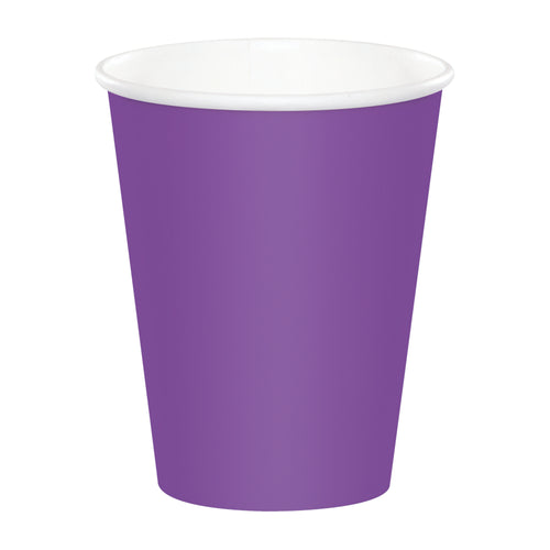 Purple Cups - Happy Plates
