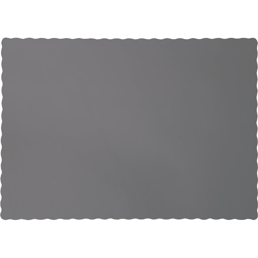 Glamour Gray Placemats - Happy Plates