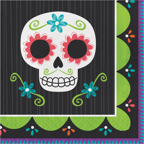 Skull Large Napkins - Happy Plates