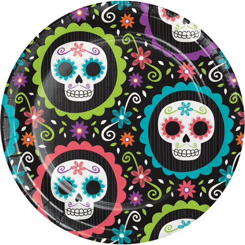Skull Small Plates - Happy Plates