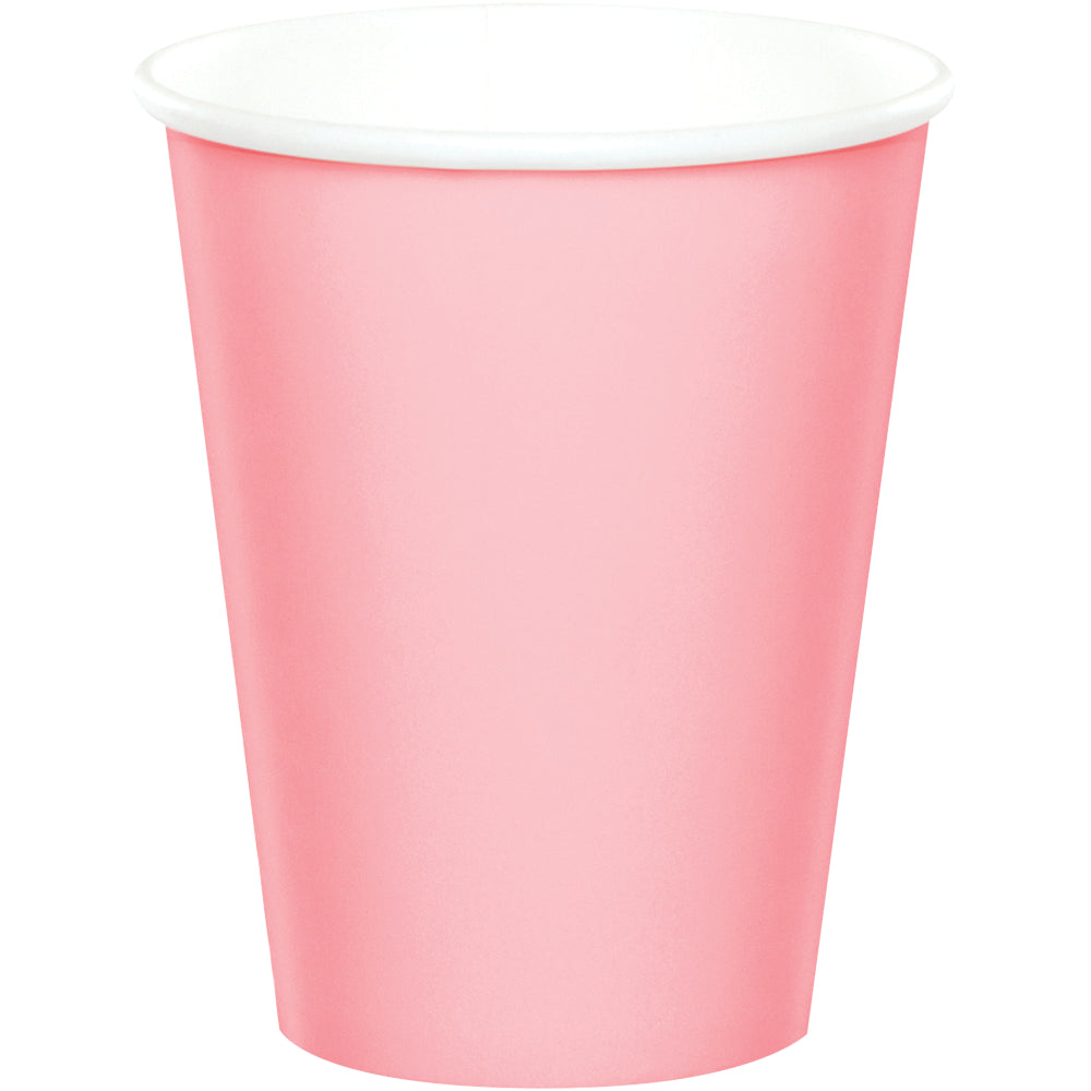 Classic Pink Cups - Happy Plates