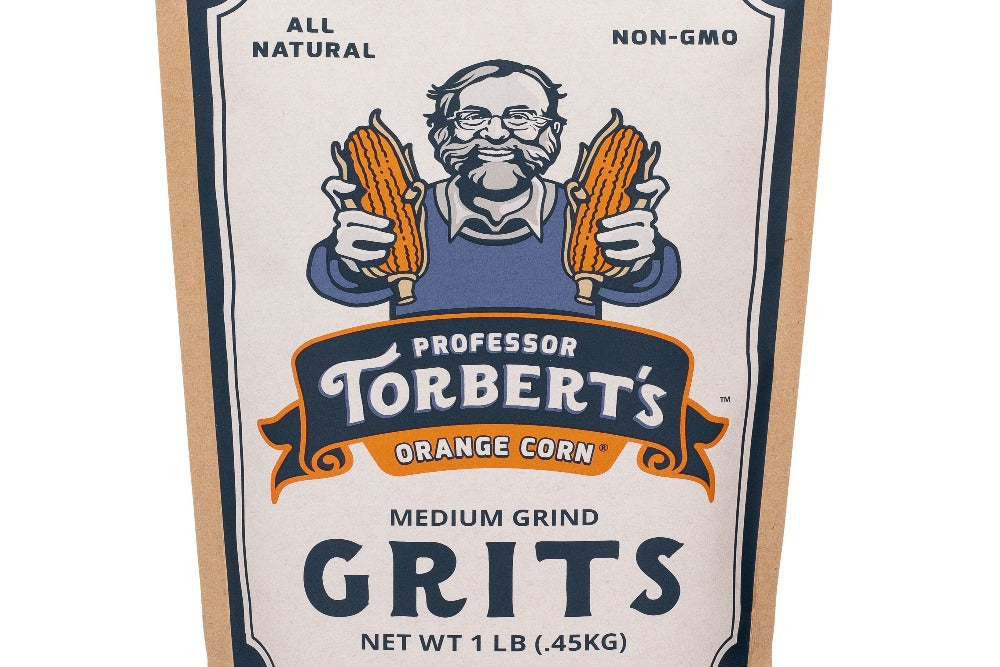 Orange Corn Grits 1lb