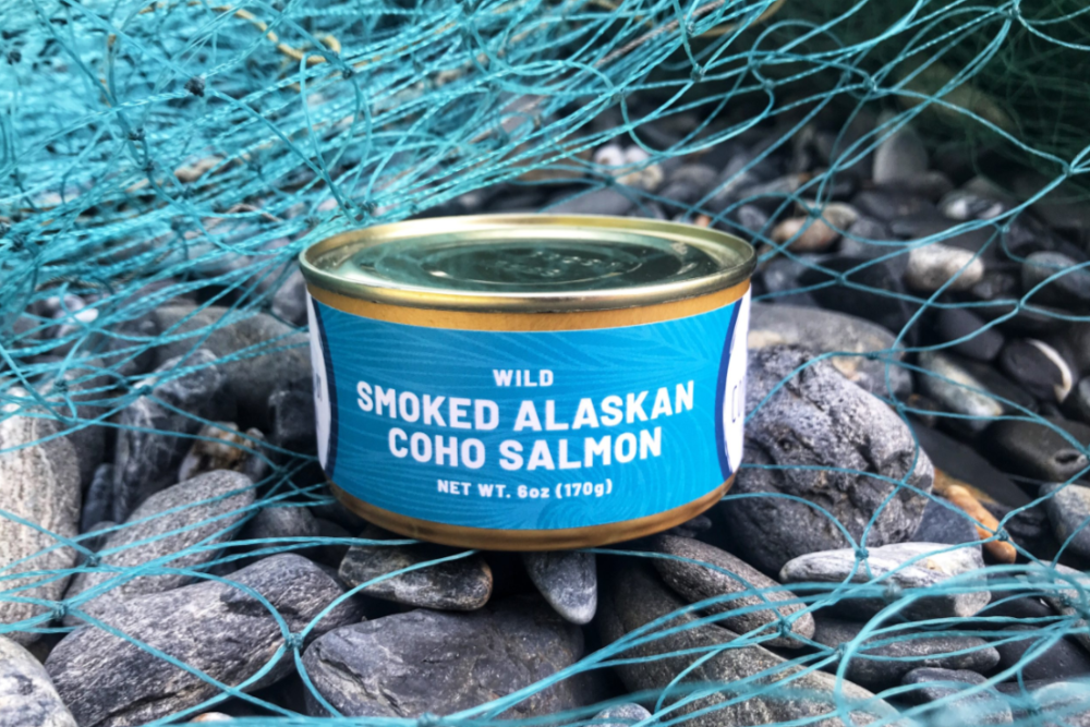 Copper River Coho Salmon Canned 6oz