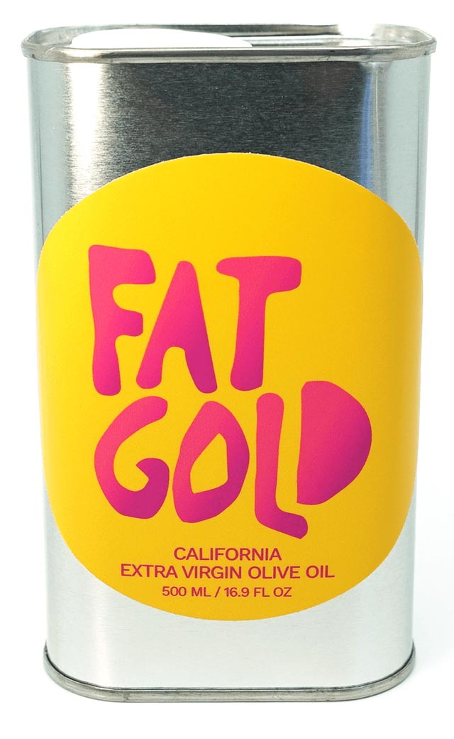 Real California Olive Oil from Fat Gold