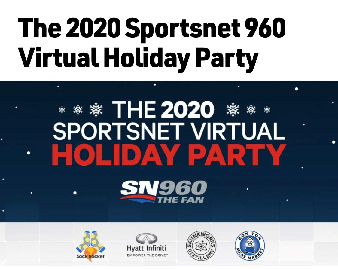 SPORTS NET 960 VIRTUAL HOLIDAY PARTY - TUB MASKS