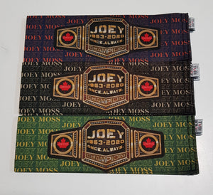 Joey Moss Wraps- ALL PROCEEDS ARE BEING PROVIDED TO THE WINNIFRED STEWART ASSOCIATION'S JOEY MOSS MEMORIAL FUND