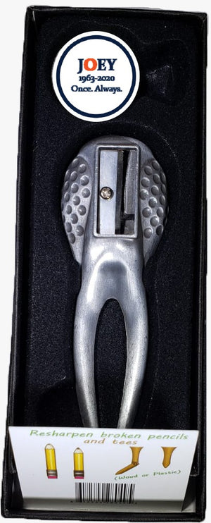 Joey ReTee (6 in 1 Ultimate Divot Tool)- ALL PROCEEDS ARE BEING PROVIDED TO THE WINNIFRED STEWART ASSOCIATION'S JOEY MOSS MEMORIAL FUND
