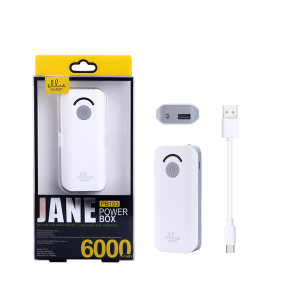 POWER BANK PB103 6000MAH