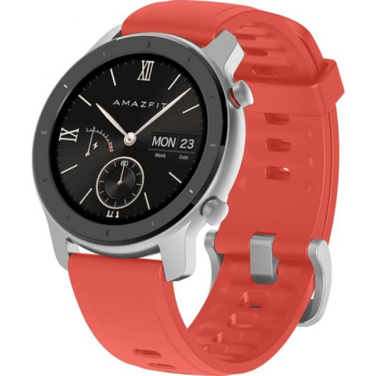 Xiaomi SmartWatch AmazFit GTR 42MM – Global Version (Rojo)