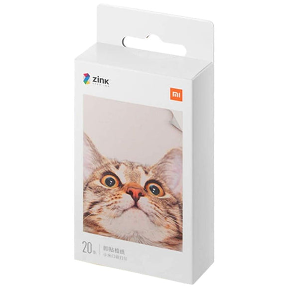 Papel Fotográfico Xiaomi Mi Portable Photo Printer – 2×3″ Pack x20