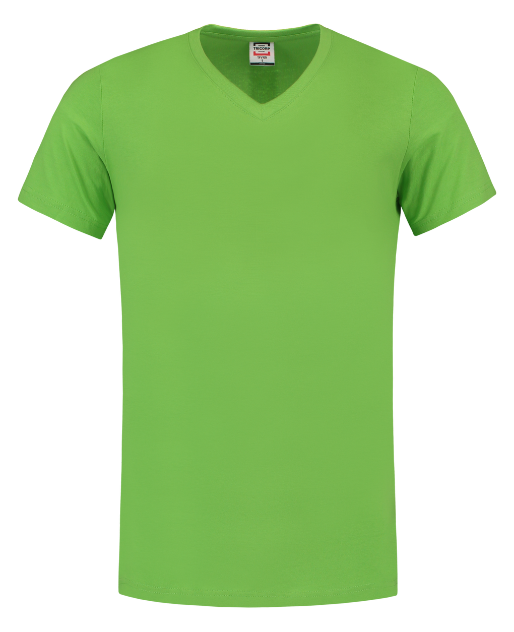 Tricorp T-Shirt V Hals Slim Fit Lime