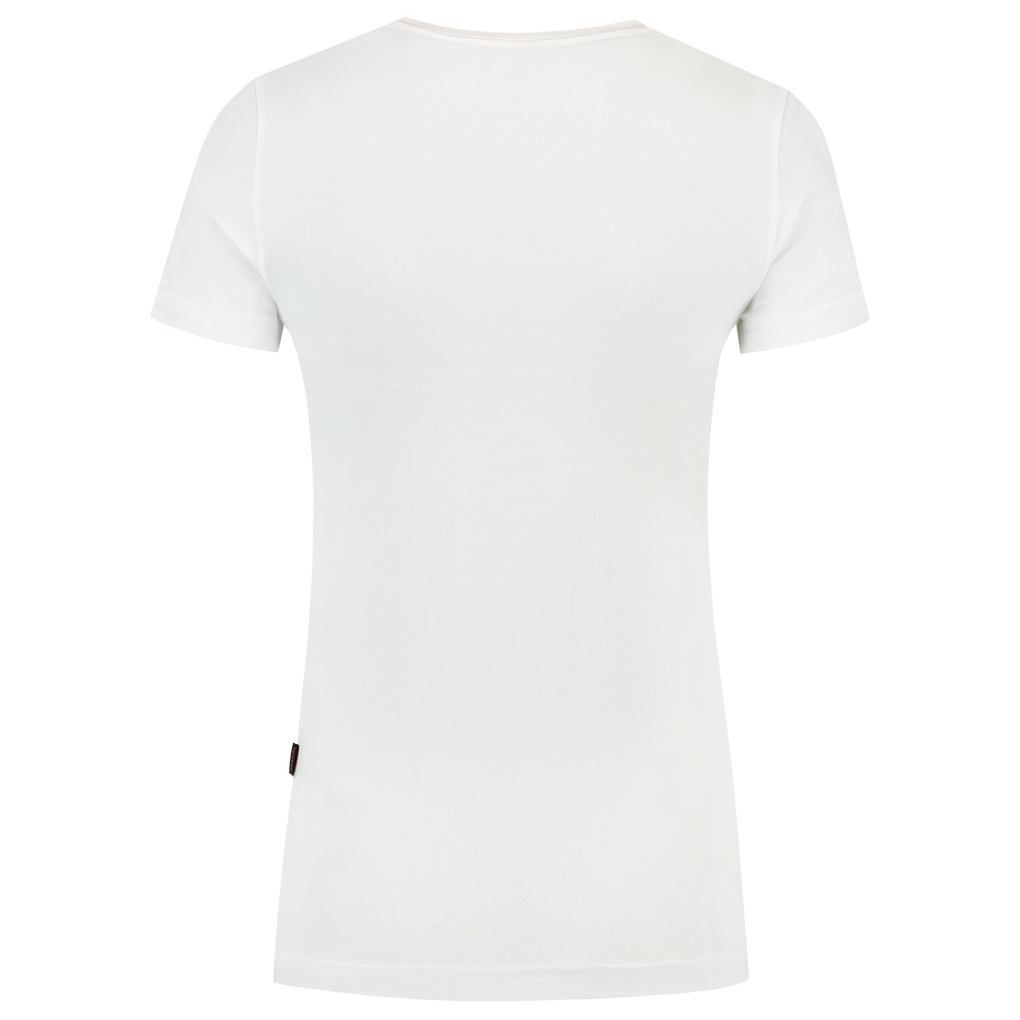 Tricorp T-Shirt V Hals Slim Fit Dames White
