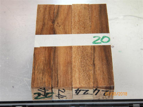 Australian #24 Cork Tree - PEN blanks raw - Sold in packs