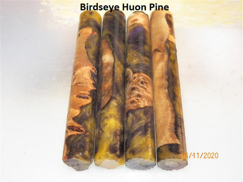 Huon Pine burl Resifills - Rounded Pen blanks- sold in Packs