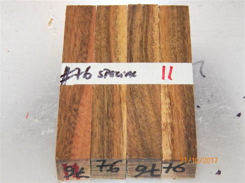 Australian #76 SA Ironwood Special (local) - PEN blanks raw - Sold in packs