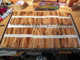 Australian #86st Scribbly Gum wood - PEN blanks - Sold in packs