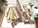 #99st Pheasant wood- PEN blanks raw unsanded - Sold in packs of 4
