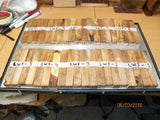 Australian LWF tree wood - PEN blanks - Sold in packs