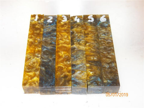 Full epoxy resin size Pen Blanks - Sold singly