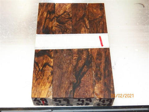 Australian #49 Casuarina Spalted wood - STABILISED PEN blanks - Sold in packs