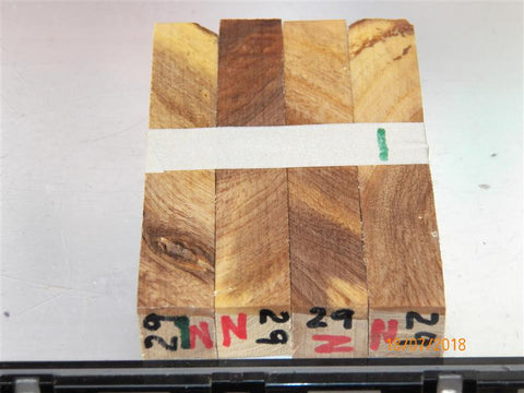 Australian #29z(diagonal cut) Lucerne tree wood - PEN blanks - Sold in packs