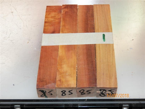 Australian #85st (straight cut) Chinaberry tree wood - PEN blanks - Sold in packs