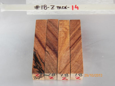 Australian #18-N/Z (New, diagonal cut) Golden Wattle - Sold in packs of 4 blanks