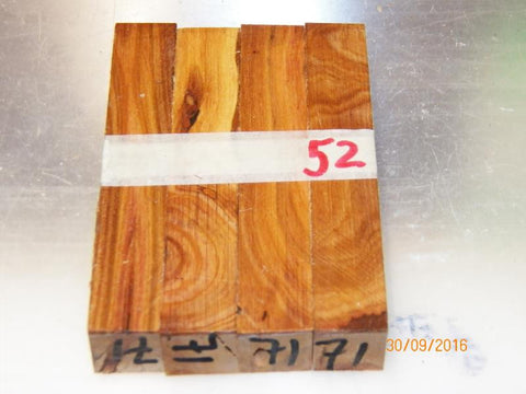Australian #71st Prune tree NEW wood - PEN blanks raw - Sold in packs