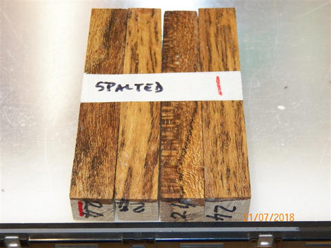 Australian #24 Cork Tree spalted - PEN blanks raw - Sold in packs