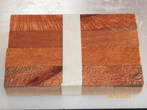 Australian #51-X/Z Silky-Oak (old) tree wood - raw PEN blanks - Sold in packs