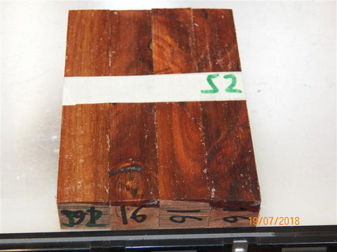 Australian #16 Black Wattle wood raw - PEN blanks - Sold in packs