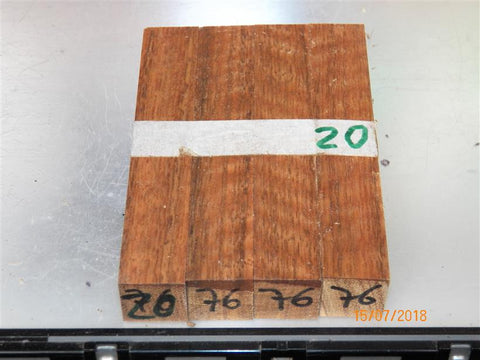 Australian #76st SA Ironwood (local) - PEN blanks raw - Sold in packs