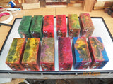 SALE - Australian made e-cig mod blanks Resifills (resin filled) sold singly- Part 1