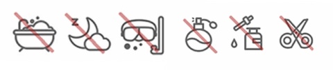 jewelry care icons