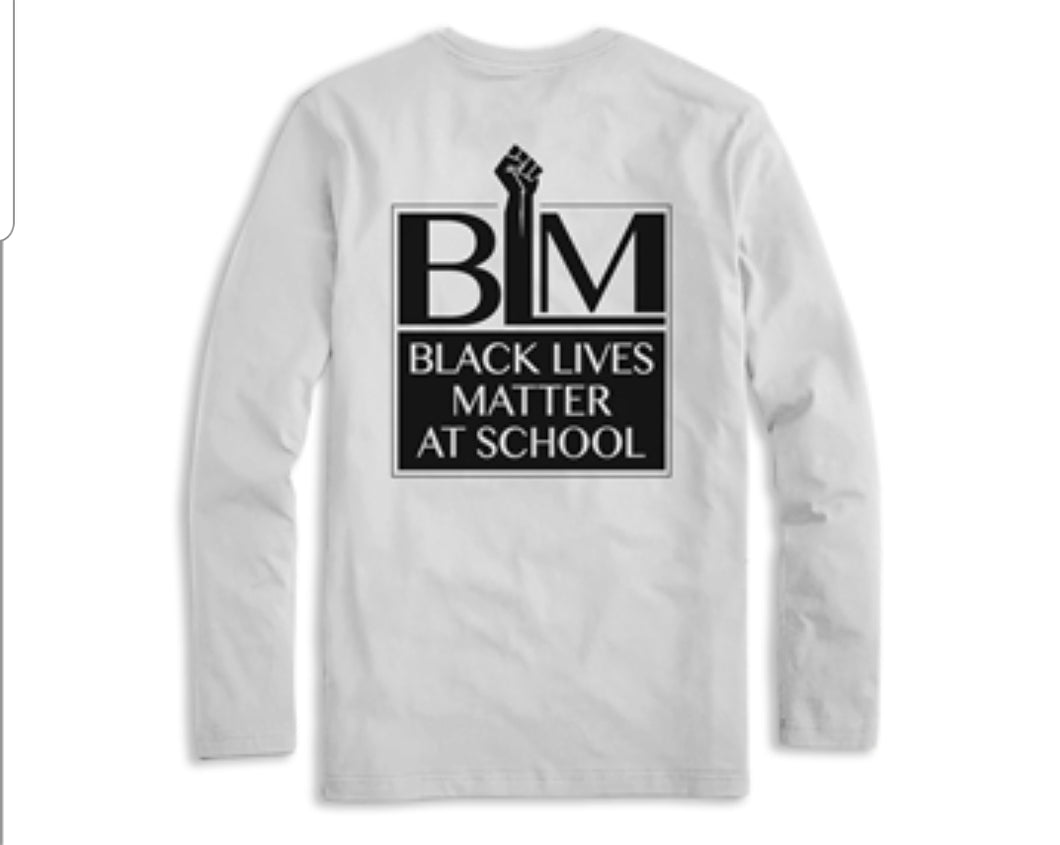 Black Lives Matter at School Long Sleeves
