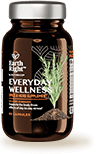Everyday Wellness wellness supplement in sustainable glass bottle
